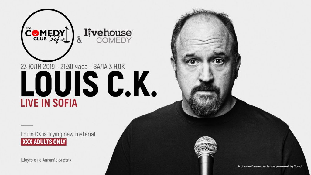 Louis C.K. Bulgaria Sofia Stand-up comedy