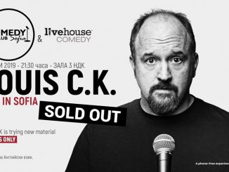 Louis CK in Bulgaria Sofia