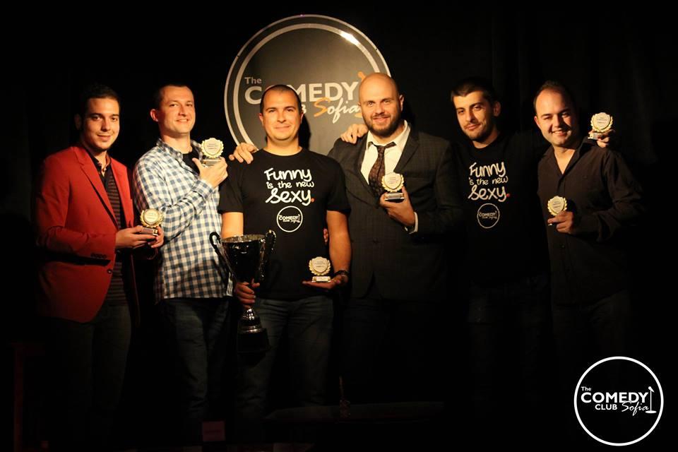 Иван Кирков връчва наградите за stand-up comedy и Open Mic